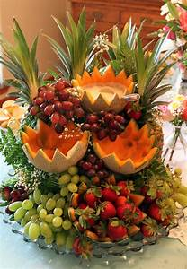 Food Display: The Fruit Cascade Live Pretty