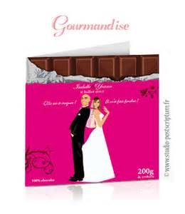 faire part mariage gourmandise faire part de mariage original gourmandise chocolat bonbons