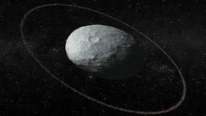 Ring discovered around 'potato-shaped' dwarf planet Haumea
