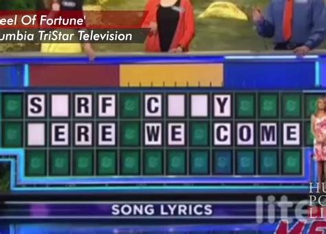 fortune wheel song answer