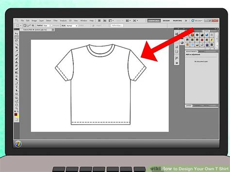 Coloring Logo In Photoshop by How To Design Your Own T Shirt Wikihow