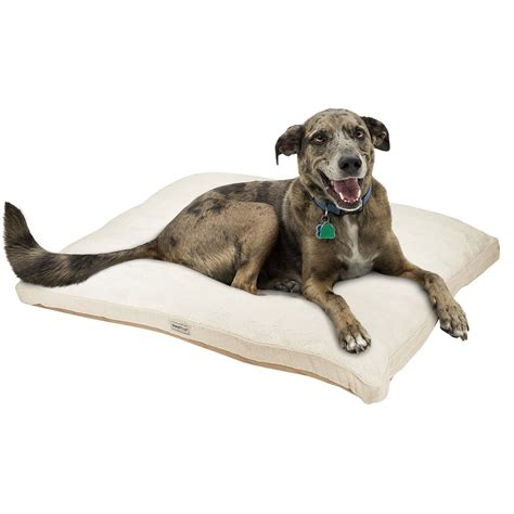 poochplanet thermacare 174 memory foam dog bed extra large