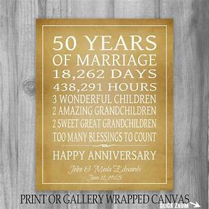 golden anniversary gift grandparents 50th anniversary gift With 50 wedding anniversary gift