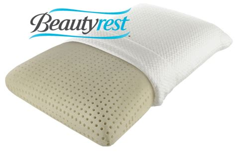 beautyrest memory foam pillow beautyrest 174 truenergy plush memory foam pillow at gardner