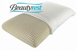 beautyrestr truenergytm plush memory foam pillow at gardner With beautyrest latex foam bed pillow