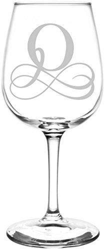 robot check monogram wine glasses engraved wine glasses vinyl monogram