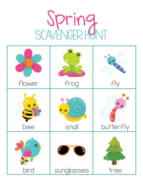 free activities pack for preschool or kindergarten 972 | Spring1