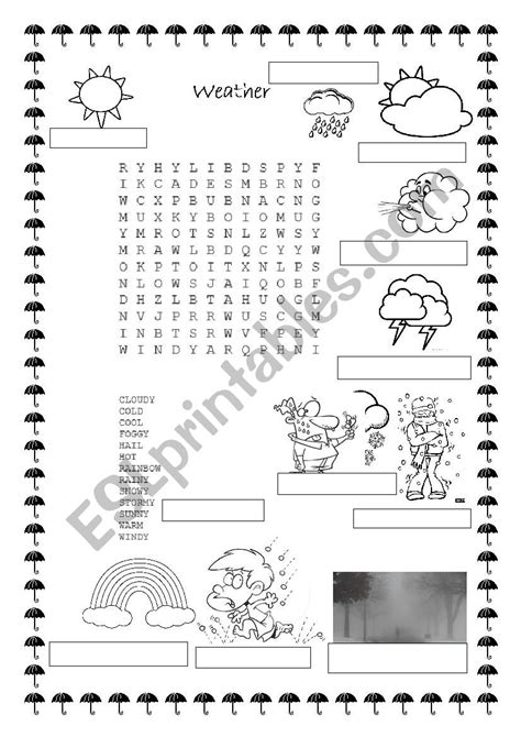 weather word find  write  words   images