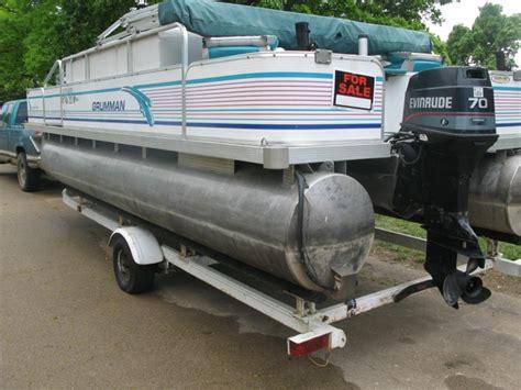 Grumman Pontoon Boat Seats by 1996 Grumman Sportfish 20 Pontoon Boat Nex Tech Classifieds