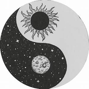 """Sun & Moon Yin Yang"" Stickers by Rachel Bernstein Redbubble"