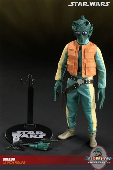 star wars greedo   figure  sideshow collectibles
