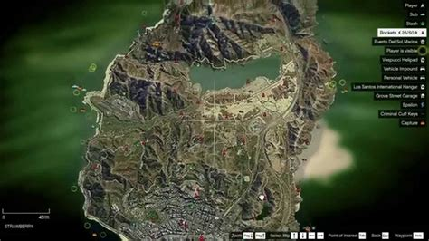 Satellite Map + Collectibles On Map