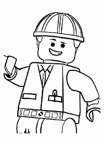 Lego Coloring Emmet Adventure Dessin Pages Imprimer