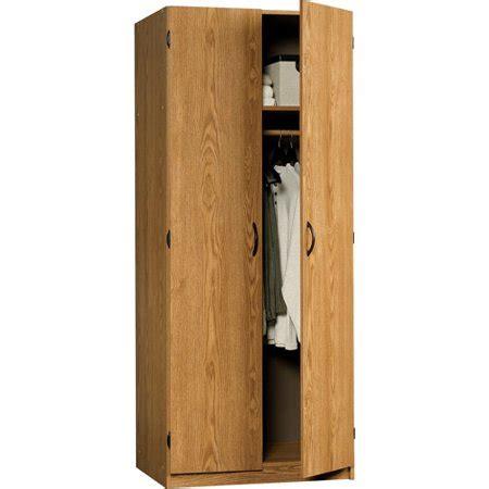 Sauder Wardrobe Storage Cabinet by Sauder Beginnings Wardrobe Storage Cabinet Oregon Oak