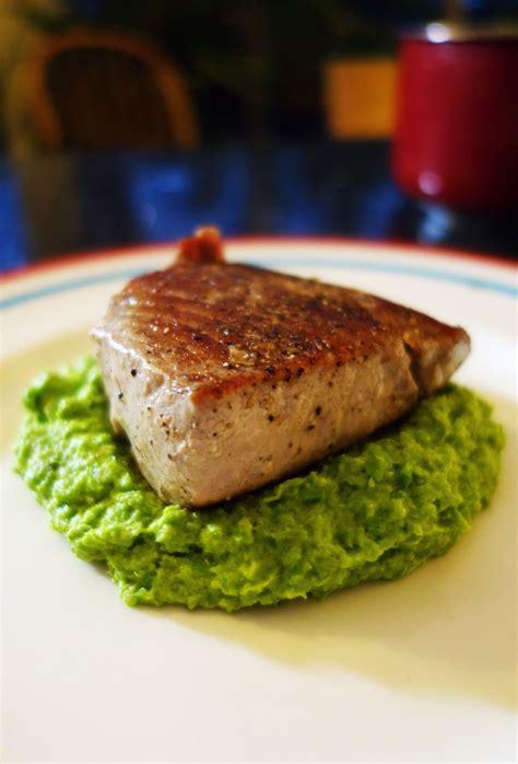 seared tuna seared tuna with wasabi butter sauce recipe dishmaps