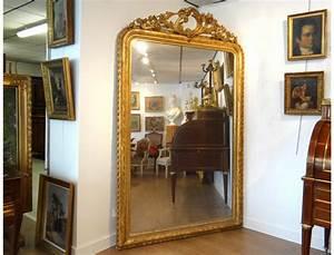 Grand Miroir Dor Ides De Dcoration Intrieure