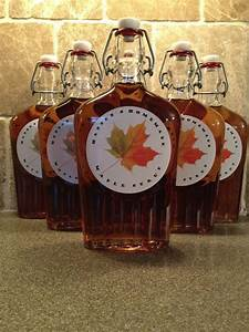 Homemade Maple Syrup Labels - Customer Ideas