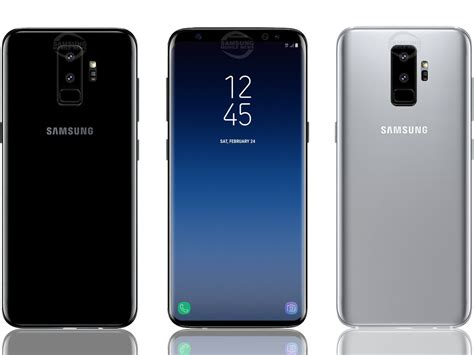 this is what samsung s upcoming galaxy s9 may look like