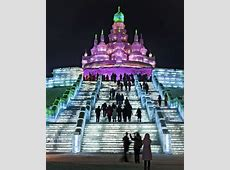 Flights to Harbin Ice and Snow Sculpture Festival
