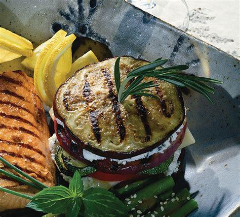 Grilled Vegetable Napoleons   Home Trends Magazine