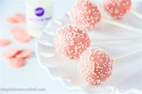 toothsome cake pops     bite sized