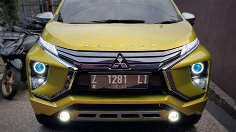 Modifikasi Mitsubishi Xpander by Modifikasi Lu Mitsubishi Xpander Biar Lebih Futuristik