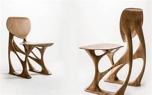 Chaise Bois Design : s inspirer du mobilier design 30 cr ations nouvelles ~ Teatrodelosmanantiales.com Idées de Décoration