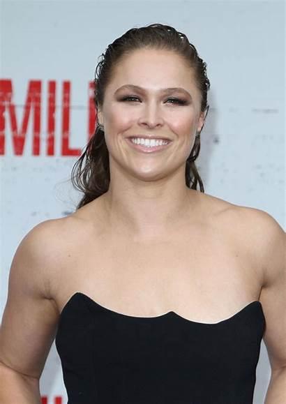 Rousey Ronda Mile Premiere Angeles Los Celebzz