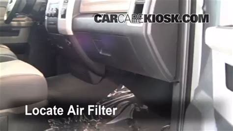 dodge ram  cabin air filter check