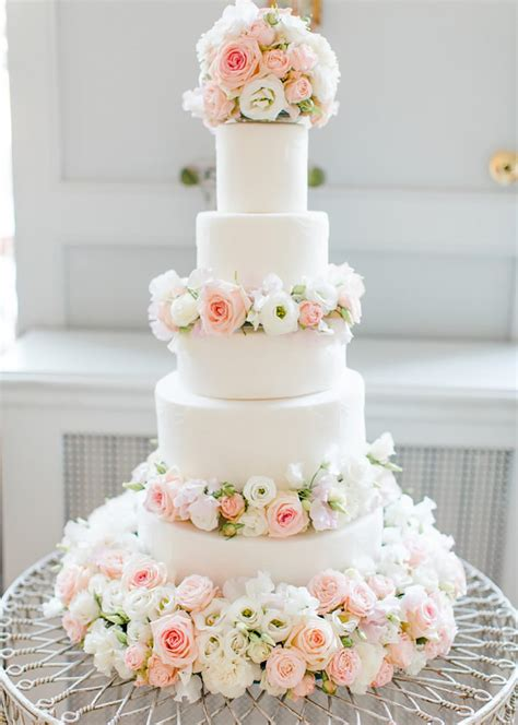 White Wedding Cakes Wedding Ideas By Colour Chwv