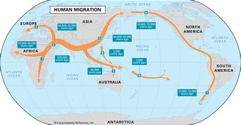 human migration britannicacom