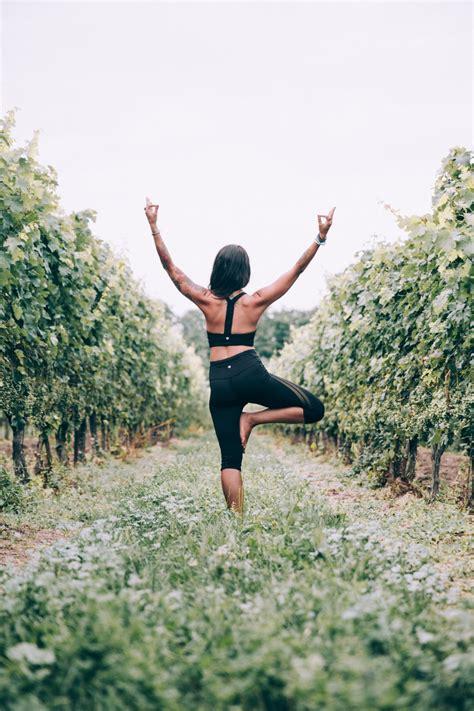photo  woman yoga tree pose stocksnapio