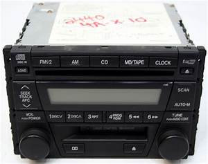 2000-2003 Mazda Mpv Factory Stereo 6 Disc Changer Cassette Cd Player Bose Oem Radio