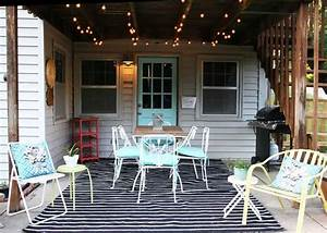 Patio, Makeover, On, A, Budget