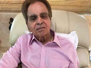 This latest picture of Dilip Kumar will make you worried ...