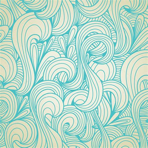 Retro swirls seamless pattern — Stock Vector © Danussa ...