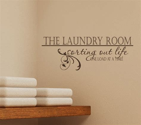 laundry room sorting out vinyl vinyl wall decal words