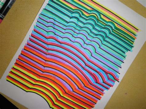 3 Dimensional Prints by Lesson How To Draw A Print In 3 Dimensional
