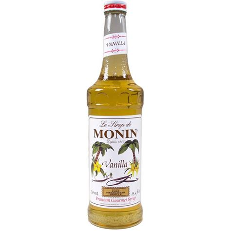 The flavors of caramel and pecan go. Vanilla - Monin Premium Gourmet Syrup - Seattle Coffee Gear