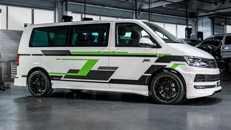 vw t6 abt abt electrifies and tunes vw t6 transporter for geneva