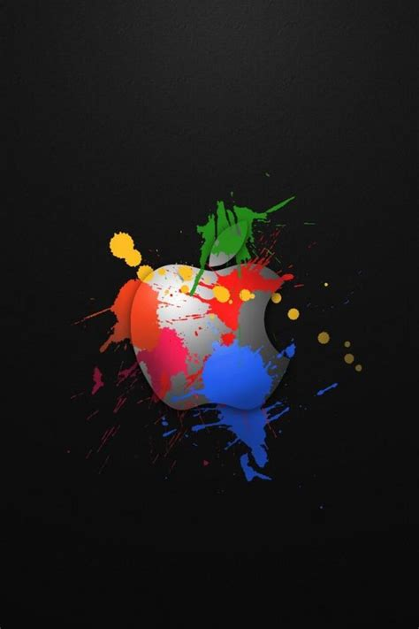 Apple Logo 3d Iphone 4 Wallpapers 640x960 Mobile Phone