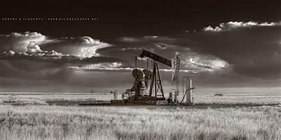Oilfield Oil Gas Mexico Prints Texas Pump