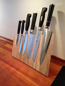 Sarah Wiener Messerblock : magnetic knife block messerblock bastelarbeiten und diy ideen ~ Markanthonyermac.com Haus und Dekorationen