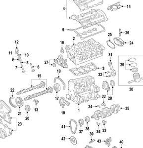 Gti Fsi Engine Diagram by Audi A4 B7 Golf Jetta Passat 2 0t Fsi Engine Chain