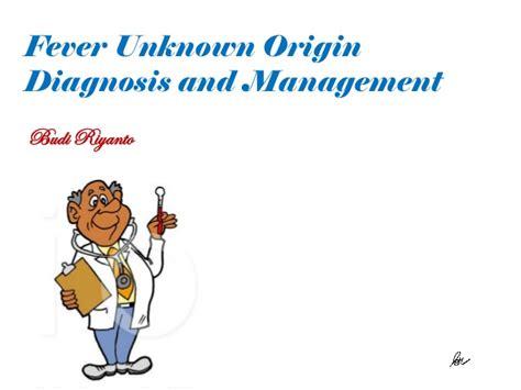 Fever Unknown Origin
