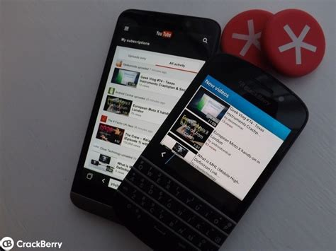 youtube  blackberry  users  prefer  browser    party app crackberrycom