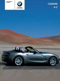 small engine service manuals 2005 bmw z4 free book repair manuals bmw z4 brochure