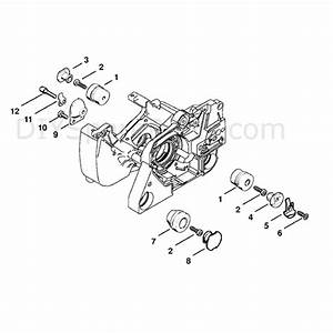 Stihl Ms 380 Chainsaw  Ms380  Parts Diagram  Av System