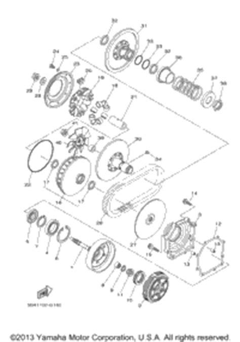 Wiring Diagram For Rhino 700 2009 by 2009 Yamaha Rhino 700 Fi Yxr7fygr Oem Parts Babbitts