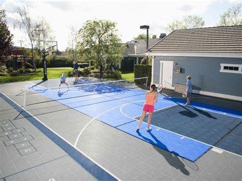 backyard tennis court backyard courts gallery sport court of southern california